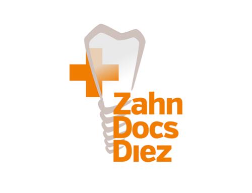 Logo-Design Zahnarztpraxis Zahn Docs Diez