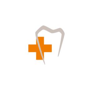 Bildmarke Zahn Docs Diez für Buttons im Browser oder auf Smartphones